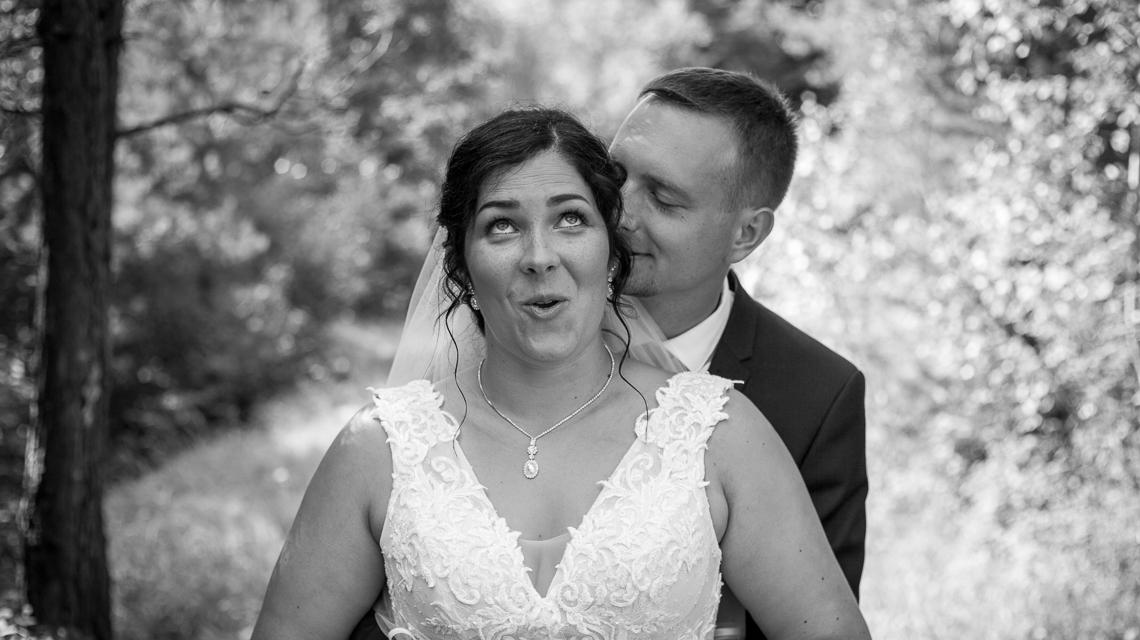 Portrét novomanželů - Svatební fotografie