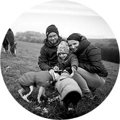 Portrét se zvířaty - Rodinné focení