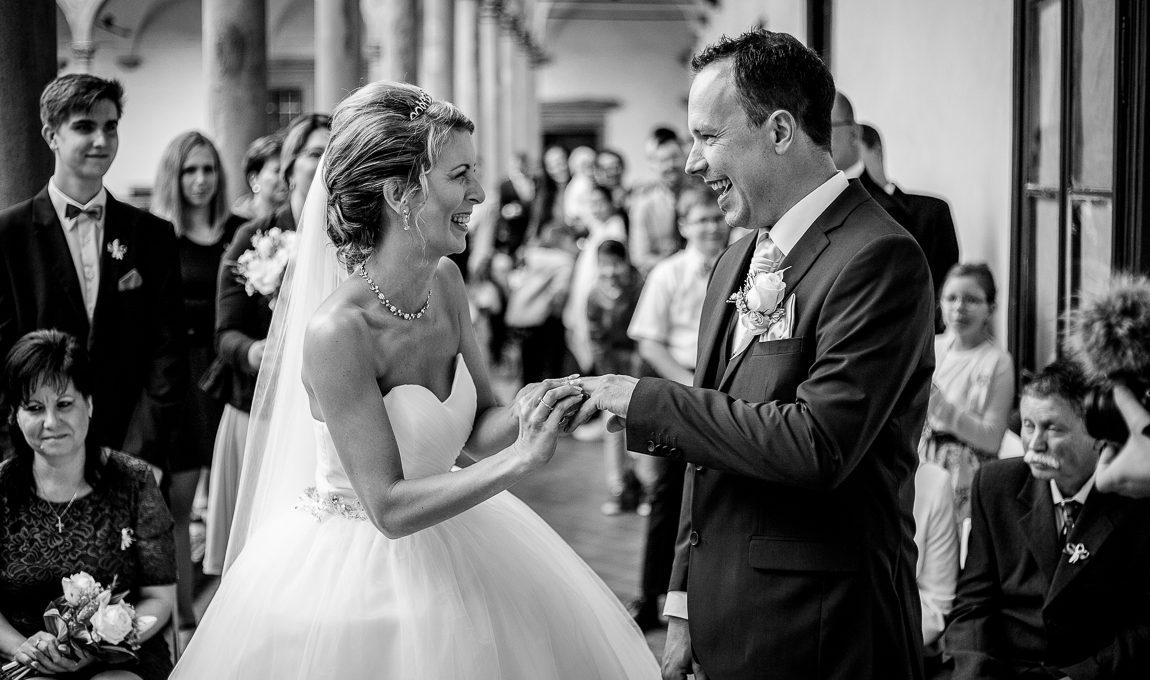 Svatební obřad - Svatební fotografie