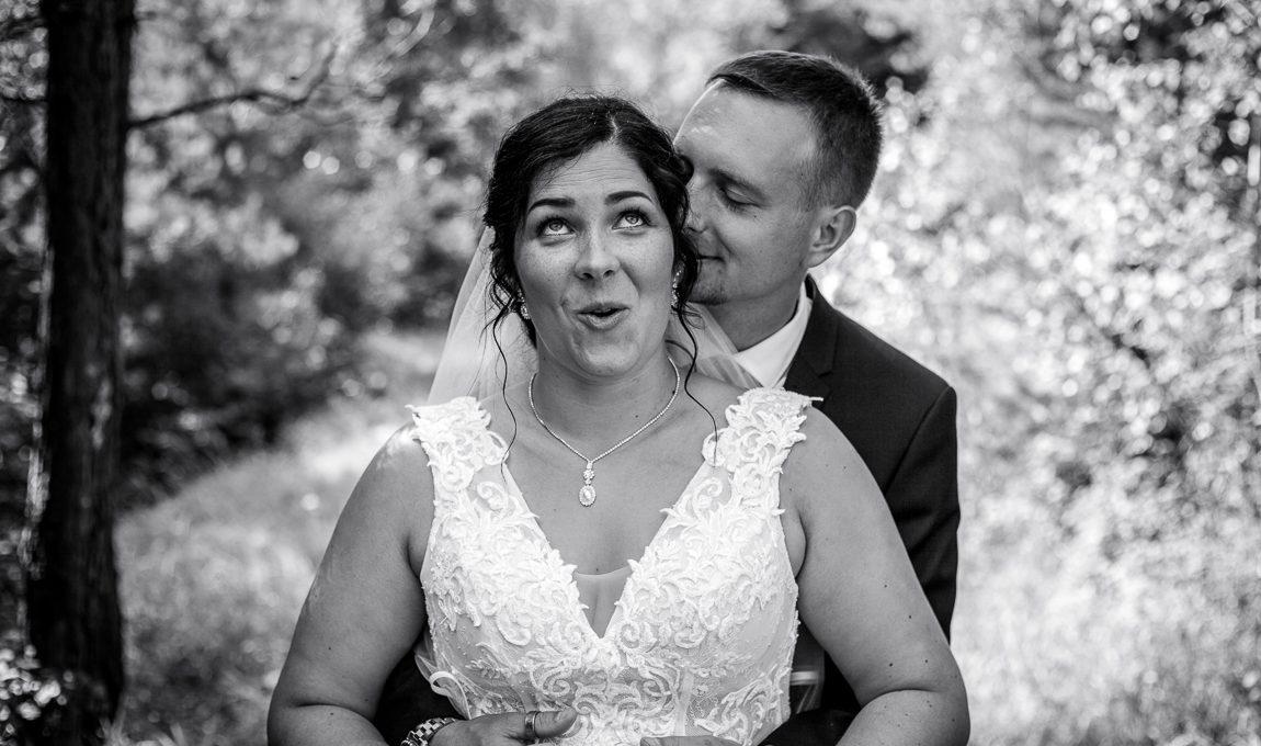 Ženich a nevěsta - Svatební fotografie